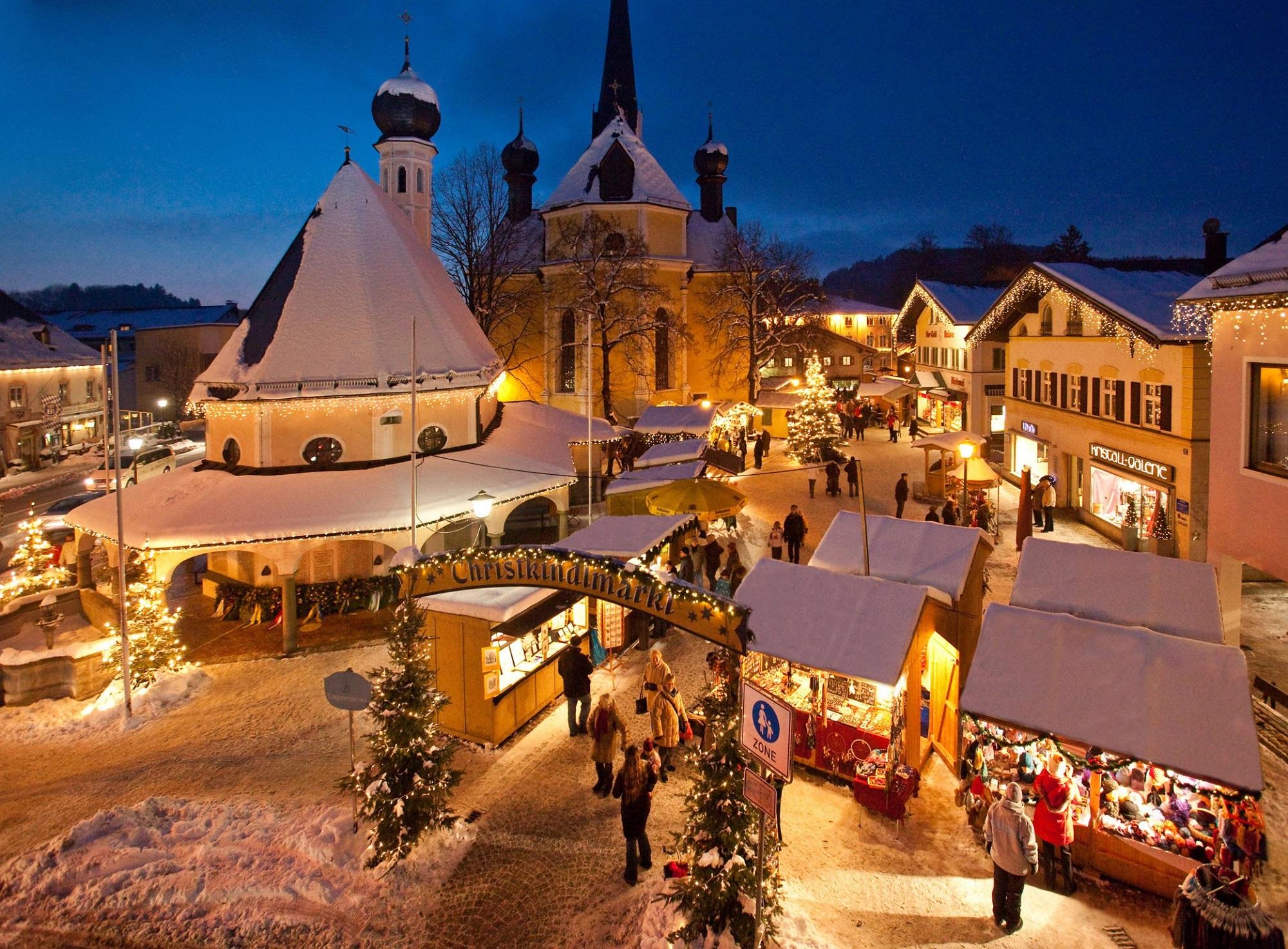Bad Hindelang Weihnachtsmarkt.Busreisen Mit Schweizer Bustouristik